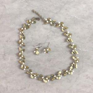 Michael Michaud boxwood necklace